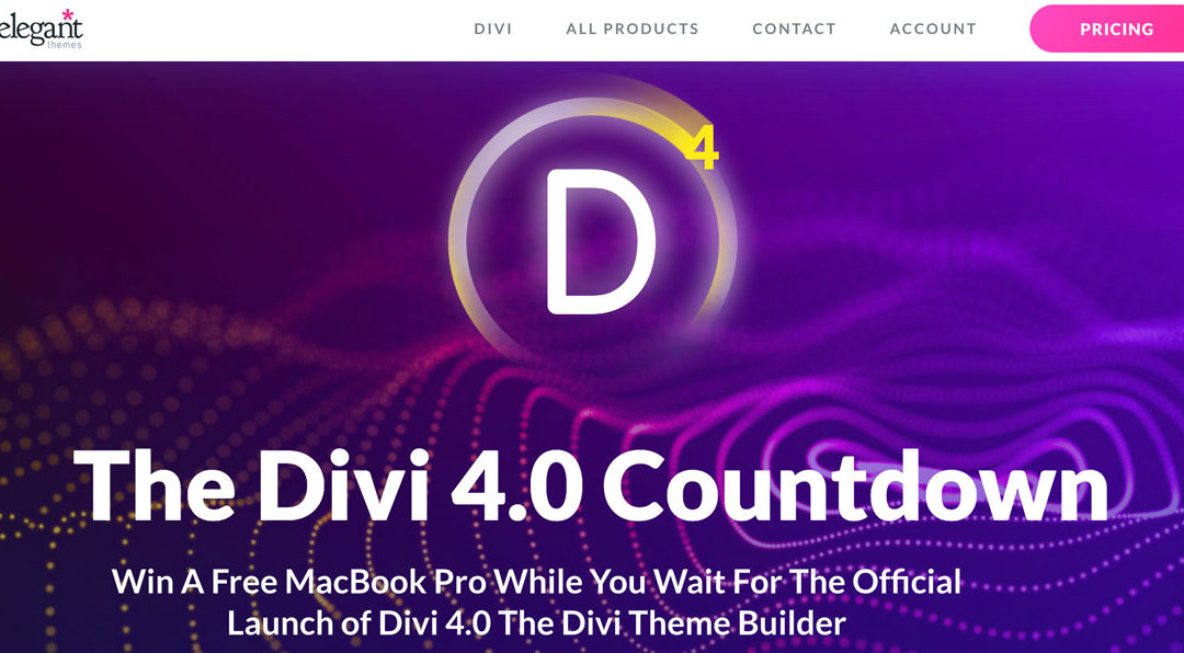 Divi, the greatest theme avaialbe for wordpress